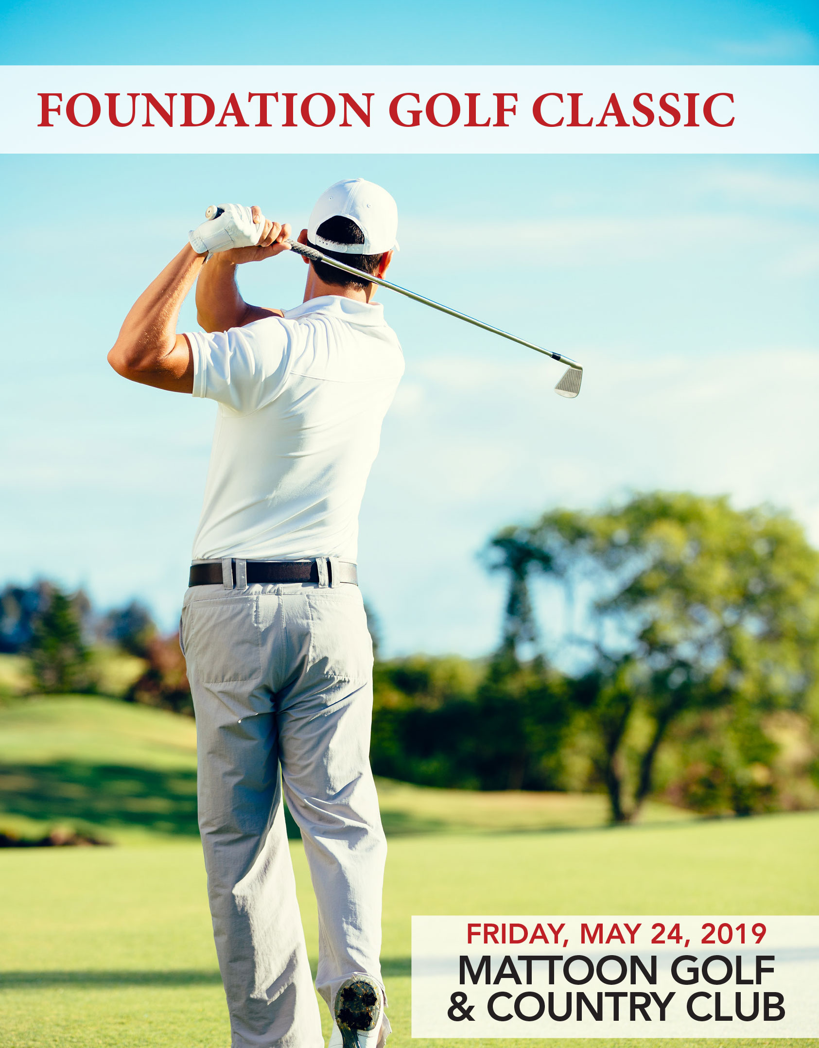 Foundation Golf Classic Prizes