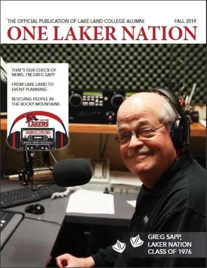 One Laker Nation magazine