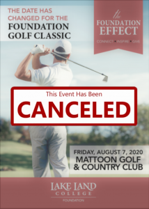 Golf Outing Canceled