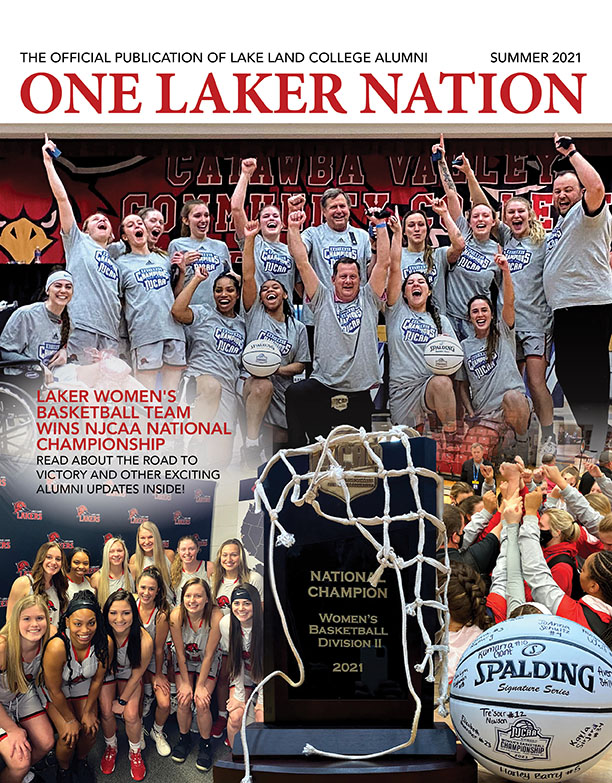 One Laker Nation magazine